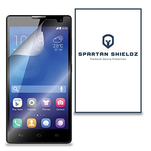 6X - Spartan Shields Premium HD Screen Protector Cover For Huawei Honor 3C - 6X