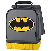 Kit de almuerzo de compartimiento doble termo, Batman