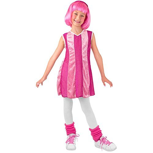 Kid's Lazy Town Stephanie Costume (Size:Small 4-6) by Disguise (Stephanie Lazy Town Costume)