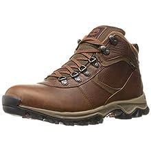 Timberland Men's Mt. Maddsen Mid Leather Wp, medium brown full grain, 12 Medium US