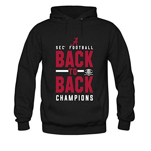 Men's a back to back champions Cotton Fashion Hoodied Sweatshirt XXL Black