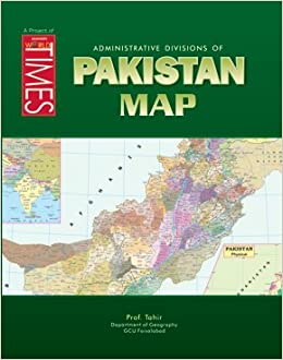 Pakistan Map: Prof  Tahir: 9789692773263: Amazon com: Books