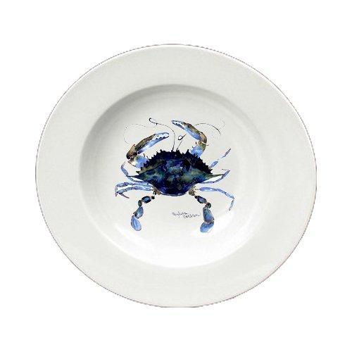 Crabセラミック – ボウルラウンド8.25インチ8324-sbw B00IVPQORO