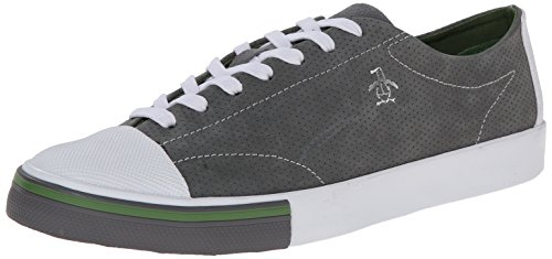 Original Penguin Mens Tobaggan Köra Mode Sneaker Ljusgrå