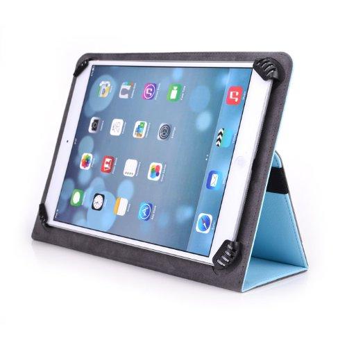ProScan PLT1044 10.1 Inch Tablet Case - UniGrip 10 Edition Folio Case - LIGHT BLUE - By Cush Cases