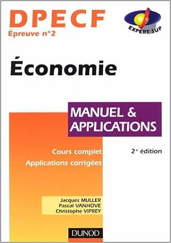 Lire en ligne DPECF 2 - Economie Manuel epub, pdf