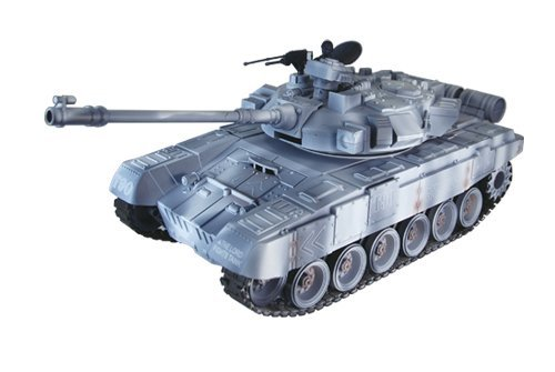 1/18 RC tanks Russia military models Review