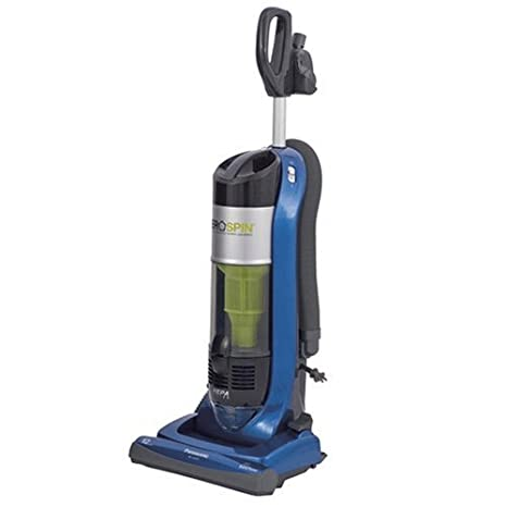 Panasonic Cyclonic Bagless Upright Vacuum Cleaner, AeroSpin, 0 g - Aspirador: Amazon.es: Hogar