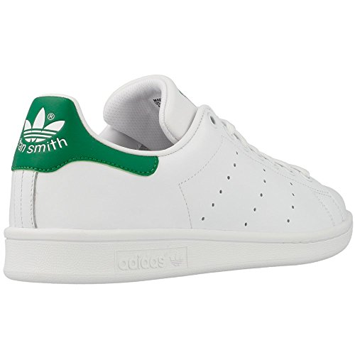 adidas Originals Stan Smith, Zapatillas de Deporte Unisex Adulto, Blanco Roto (Running White Footwear/Running White/Fairway), 54 2/3 EU