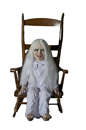 Ghost Girl Latex Animated Prop (Clown Makeup Styles)