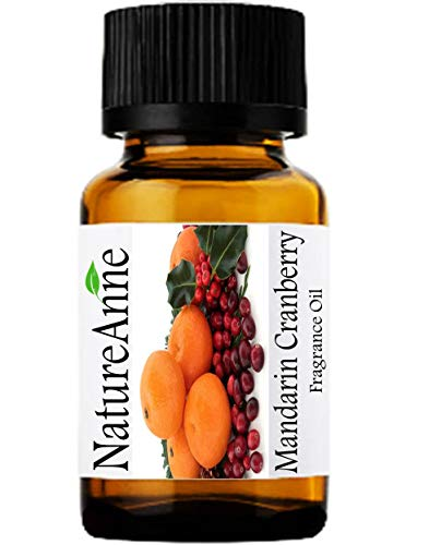 Mandarin Cranberry Premium Grade Fragrance Oil - 10ml - Scented Oil - for Diffuser Oils, Making Soap, Candles, Lotion, Home Scents, Linen Spray, Lotion, Perfume, Beard Oil,