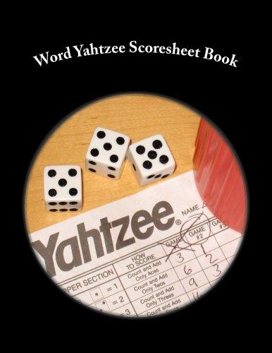 (Word Yahtzee Scoresheet Book: 100 Pages (50 sheets))