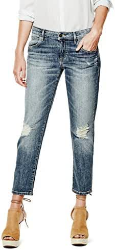 GUESS Low-Rise Tomboy Jeans