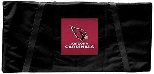 Victory Tailgate Arizona Cardinals NFL Football Regulation Cornhole Carrying ()