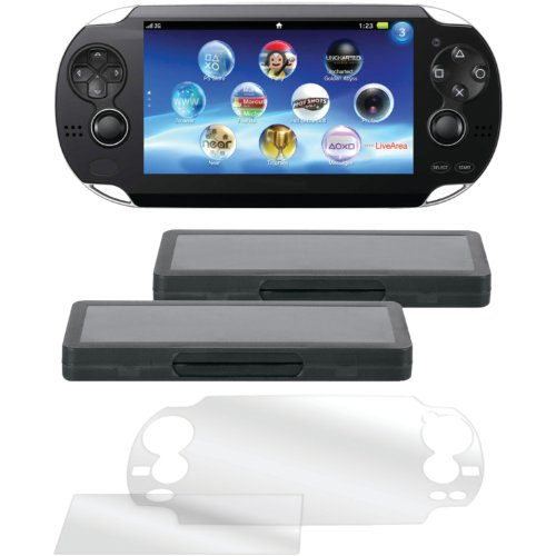 dreamGEAR PlayStation Vita Protect and Store Bundle (PCH-1000)