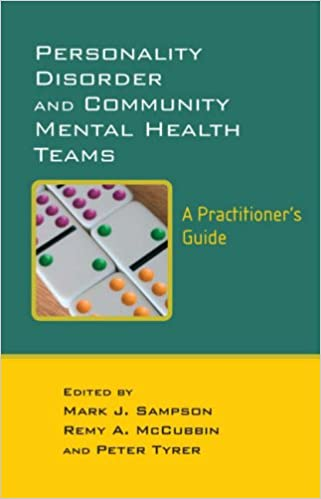 Personality Disorder and Community Mental Health Teams, A