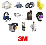 3M Air-Mate Vinyl Belt-Mounted High Efficiency (HE) Powered Air Purifying Respirator (PAPR) System, Respiratory Protection AMH-12U, NiCd Rechargeable Battery