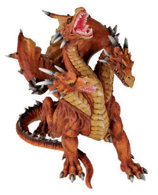 Azhi Dahaki Dragon - Collectible Figurine Statue Sculpture ()