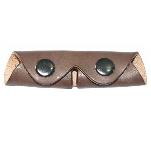 Curb Chain Guard (Intrepid International Leather Curb Chain Protector, Brown)