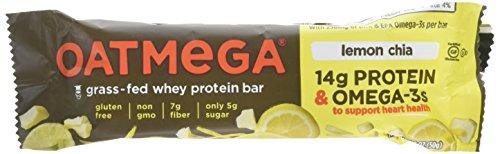 Boundless Nutrition Lemon Chia Crisp OATMEGA Bar (12 bar in Single Box)