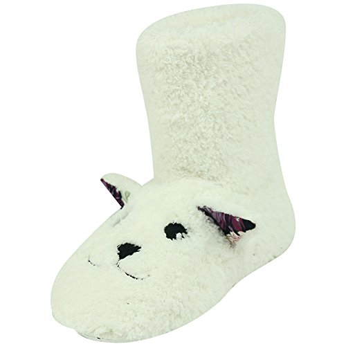 White Womens Fashion Boots Winter Soft Warm Indoor Forfoot House Slippers Lamb Fleece vdO0nqUq