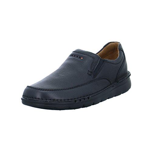 Clarks Uomini Unnature Facile Nero Pantofola