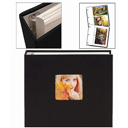 (Black Cloth Ringbound Photo Album by Nielsen-Bainbridge -)