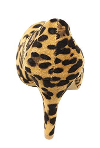 Bella Marie Celo-1 Scarpe Da Donna Con Plateau In Pelle Scamosciata Con Tacco Alto E Tacco Alto