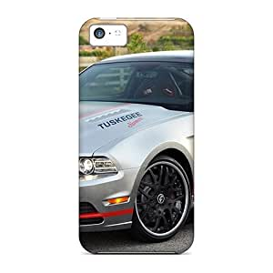 Tpu Case Cover Compatible For Iphone 5c/ Hot Case/ Custom Mustang