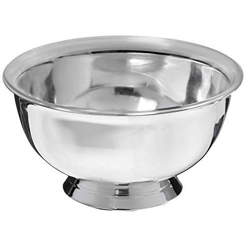 Elegance Silver 82570 Silver Plated Revere Bowl with Liner, 10