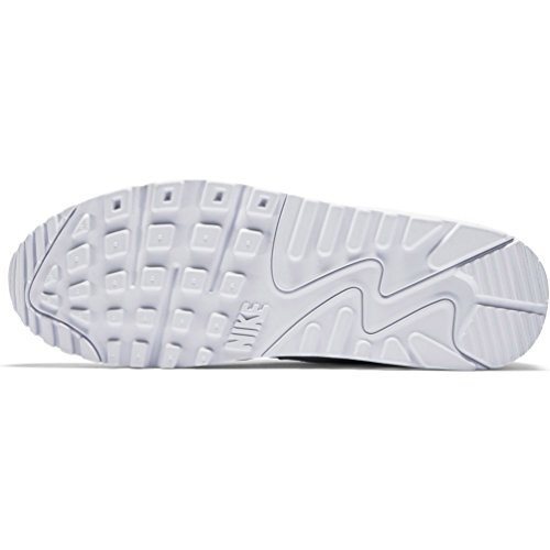 Nike Mens Air Max 90 Essential Exercise Fitness Running Low Cut Sneakers - White/White - 9 by NIKE (Image #4)