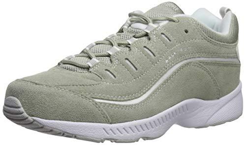 Easy Spirit Women's ROMY8 Sneaker, Green, 8 M - Dark Footwear Green Leather