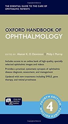 Kết quả hình ảnh cho Oxford Handbook of Ophthalmology - 4E - amazon