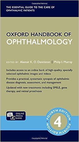 Oxford Handbook of Ophthalmology (Oxford Medical Handbooks): Amazon