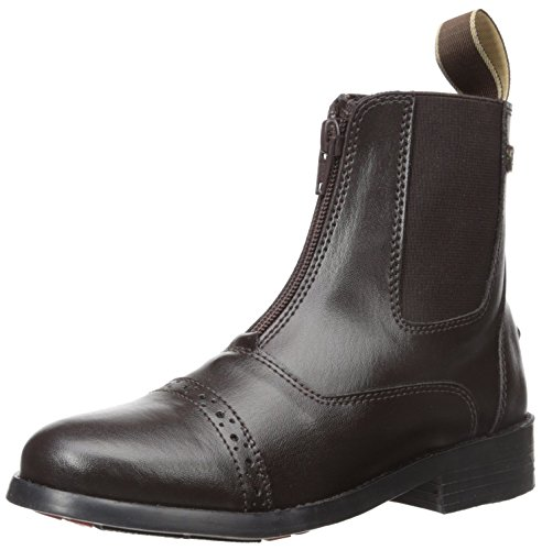 - Equistar - Child's Zip Paddock Boot (All Weather) Brown-01