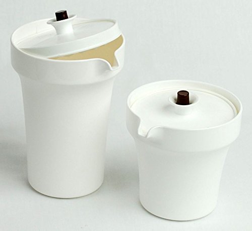 Tupperware Sugar and Creamer Set