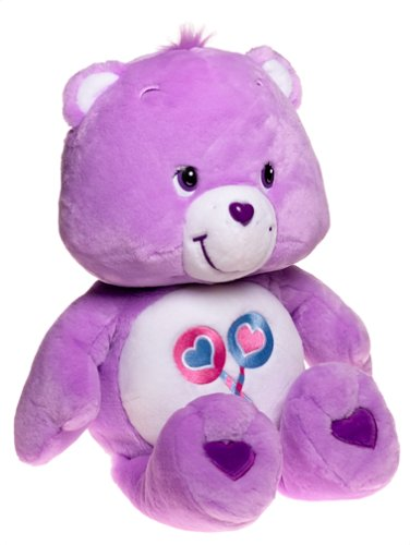 Care Bears Cuddle Plush Pillow; 26'' Share Bear [Plush]
