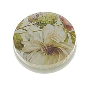 MagiDeal Floral contenedor de té azúcar Galletas (hojalata Sellado latas Cajas de Regalo