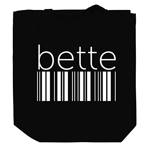 Price comparison product image Bette barcode Canvas Tote Bag