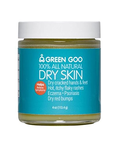 Green Goo All-Natural Skin Care, Dry Skin, 4 Ounce, Jar