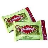 Diamond Walnuts, Halve and Pieces Combo, 2 Pound Visibility Bag - 3 per case.
