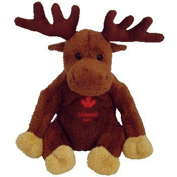 TY Beanie Baby - VILLAGER the Canadian Moose (Canadian Exclusive)