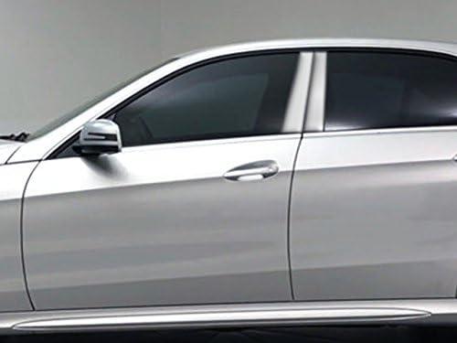 QAA fits 2010-2016 Mercedes E Class 4 Piece Stainless Pillar Post Trim PP10060