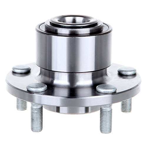 SCITOO Compatible with 513211 Front Wheel Hub Bearing Assembly fit 04-05 Mazda 3 5 Lugs w/ABS