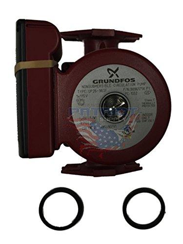 GRUNDFOS UP26-96BF, 98961756 Stainless Steel Circulator Pump, 1/12 HP, 115 volt by Grundfos