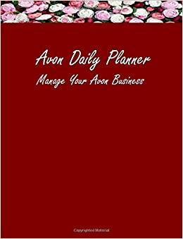 Avon daily planner manage your avon business amazon avon daily planner manage your avon business amazon victoria sheffield 9780692528297 books reheart Images