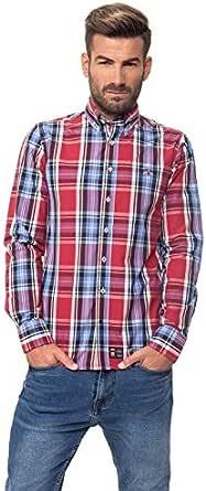 SPAGNOLO, Camisa Popelin Boton 0025 - Camisa para hombre ...
