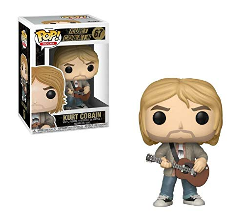 Pop! Rock - Figura de Vinilo Kurt Cobain MTV Unplugged Exclus