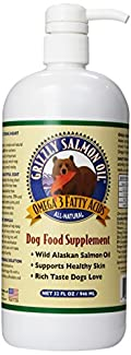 Grizzly Salmon Oil helps relieve dry itchy skin and promotes bright and lustrous coat