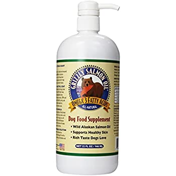 Grizzly Salmon Oil All Natural Dog Food Supplement Reviews